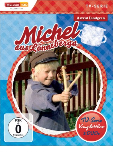 Astrid Lindgren: Michel aus Lönneberga - TV-Serie Komplettbox [TV-Edition, 3 DVDs, Digital restauriert]