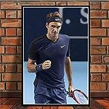 JIUJIUJIU Tennisspieler Sport Super Star Roger Federer