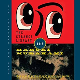 The Strange Library audiobook cover art