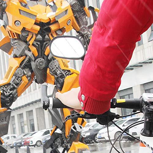 Arkham Fahrradspiegel Rückspiegel Genaration 2.0 für Fahrrad Motorrad E-Bike - 3