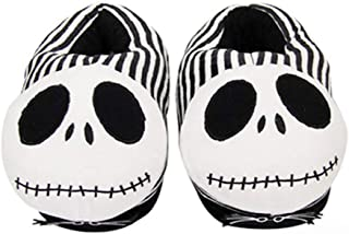 EASTVAPS Cartoon Winter Plush Slippers HalloweenThe Nightmare Before Christmas Cotton Shoes