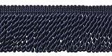 DecoPro Fransenleiste, 10 m, Marineblau, 6,3 cm, Stil #