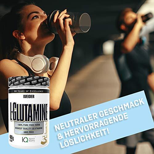 Weider L-Glutamine, 400 g - 4