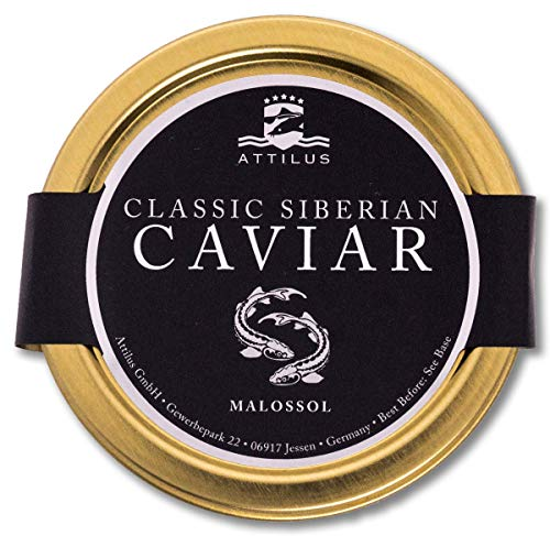 Attilus Kaviar Classic Siberian Caviar (250g)