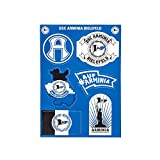 DSC ARMINIA BIELEFELD Aufkleberkarte 6 Logos -