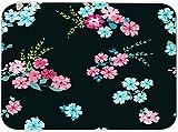 CONICIXI Alfombrilla de Secado de Platos Patrón florido brillante en pequeña escala Flores silvestres de caramelo Liberty Millefleurs Floral y Decoupage Cocina Almohadilla de Seca plega 45.7x60.9cm