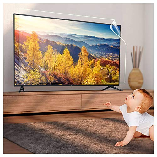 "KELUNIS 32-75 Inch TV Screen Protector, Anti-Glare/Anti Blue Light/Anti Scratch/Anti-Fingerprint Film, Relieve Eye Fatigue, for Sharp, Sony,Samsung,Hisense,LG Etc,75"" (1645931)"