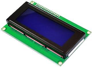 keyestudio LCD Module Shield w/IIC/I2C/TWI Serial 2004 20x4 LCD Module Shield Avr Stm32 White on Blue with Backlight for A...