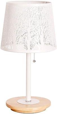Moderne Tischlampe Hockerleuchte mit LED Wohnzimmerlampe Stoffschirm gold 26cm