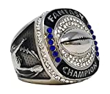 Best Fantasy Football Picks - Decade Awards Silver Fantasy Football Champion Ring, Style Review