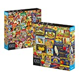 2 BEAUTIFUL PUZZLES IN ONE SET: You receive two colorful jigsaw puzzles made exclusively for Amazon and at an amazing price VIBRANT, COLORFUL ART: This line of gorgeous puzzles feature all kinds of different art techniques, including painting, photog...