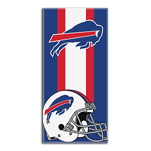 The Northwest Company NFL Buffalo Bills 'Zone Read' Beach Towel, 30' x 60' , Blue