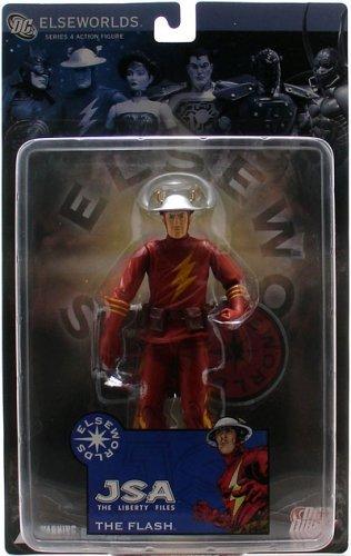 Elseworlds 4: JSA Liberty Files: The Flash Action Figure