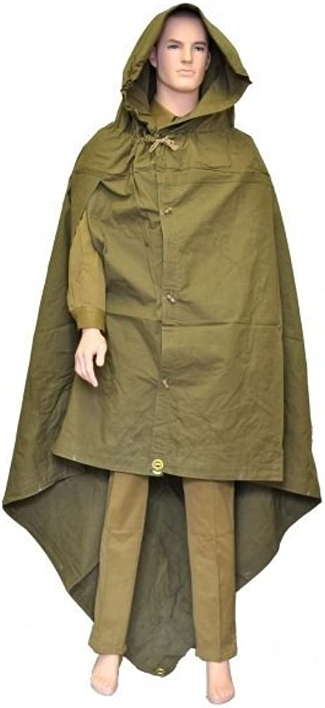 Soviet Russian Army WWII Type Soldier Field Canvas cloak tent