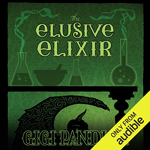 The Elusive Elixir audiobook cover art