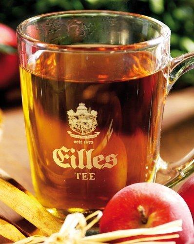 KRÄUTERDUFT Loser Tee Probierpaket von EILLES TEE (5 x 250g) mit gratis Teeglas und und großem GOURVITA Cookie