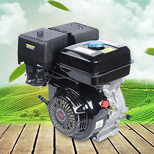 Motor de gasolina de 4 tiempos,Juego de 4 tiempos,15 CV de 4 tiempos OHV de un solo cilindro 190F,Motor de gas OHV,Motor de refrigeración de aire forzado,9 kW 3600 rpm,420 CC desplazamiento