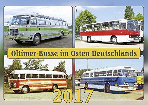 Oldtimer-Busse 2017: Oldtimer-Busse im Osten Deutschlands