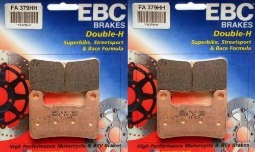 EBC Sintered Double H Front Brake 2 Pads 2004-2009 Dealing full price reduction Tulsa Mall Suzuki Sets