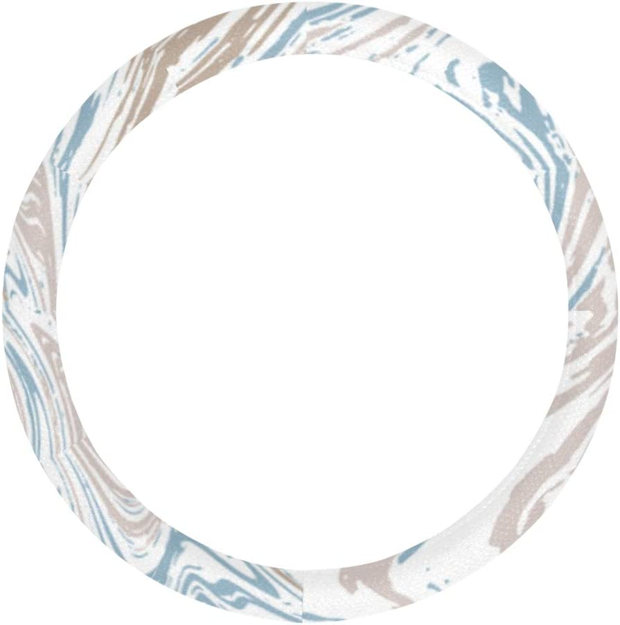XDCGG Steering Wheel Cover 2021 Marble Texture Microfibe Marbling Ranking TOP15 Ink