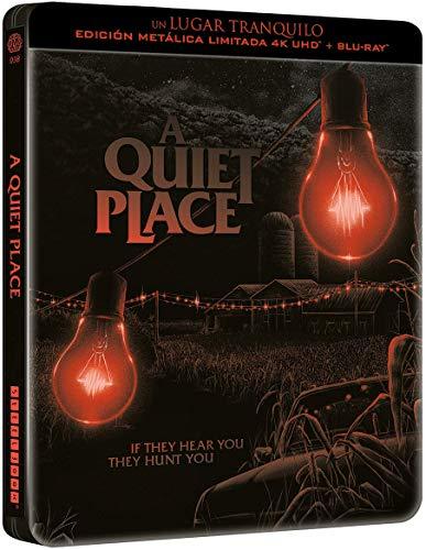 Un lugar tranquilo - Edición especial metálica + Libreto (4k UHD + BD) [Blu-ray]