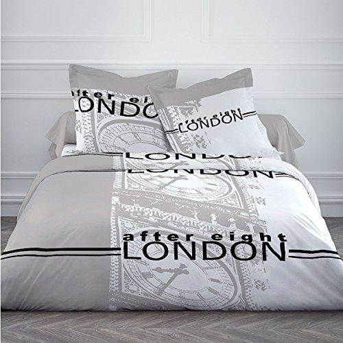 Bettbezug 220x240 + 2 Kissenbezüge AFTER EIGHT 100%Baumwolle