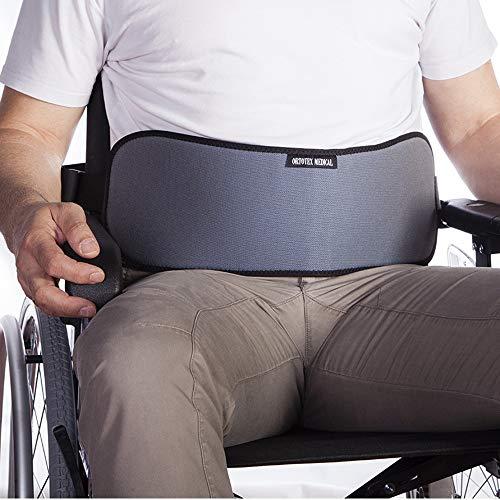 Cinturón abdominal, para silla de ruedas, sillas o sillones, para personas con tendencia a deslizarse del asiento,