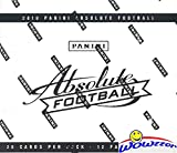 2018 Panini Absolute NFL Football MASSIVE Factory Sealed JUMBO FAT PACK Box with 240 Cards! Look for Rookies & Autographs's of Baker Mayfield, Sam Darnold, S... rookie card picture