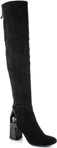 CHANTAL chaussures Stivale femmes 513 513 Cam Elast noir Autunno Inverno 2017  envoi gratuit dans le monde entier