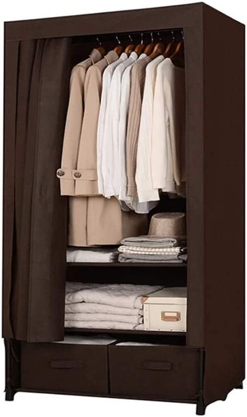 OPIU Portable Wardrobe Storage S Free shipping anywhere in the nation Simple Clothing Now free shipping Closet