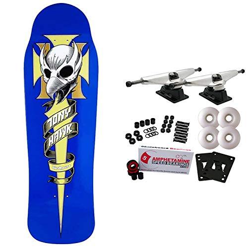 "Birdhouse Skateboard Complete Tony Hawk Crest 9.75"""