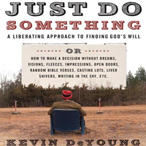 Just Do Something audiobook cover art
