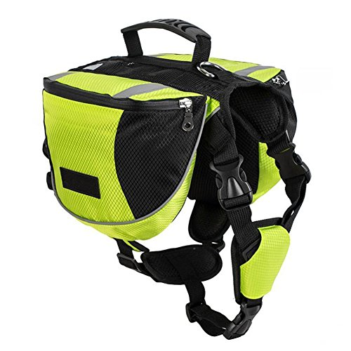 Lifeunion Polyester Dog Saddle Bag