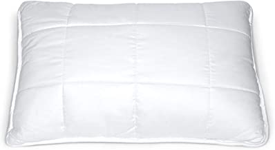 Hush Super Soft (Quilted) Pillow (18 x 27 x 6 Inch) I Imported Micro Fiber Filling I 3 Way Head-Neck-Shoulder Support I Anti-Sag Technology I Extra Soft Feel