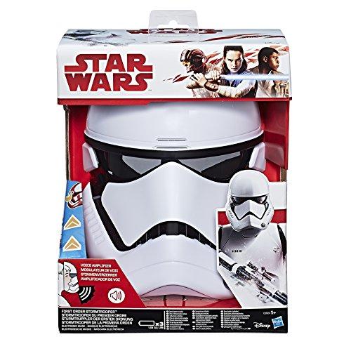 Hasbro Star Wars C2007EU4 - Episode 8 elektronische Stormtrooper Maske mit Stimmenverzerrer, Verkleidung