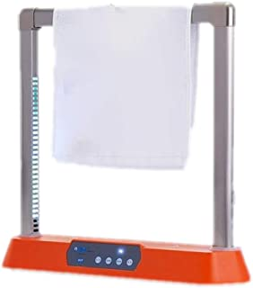 XH Heated Electric Towel Rack Removable and Portable,60 ° C hot air Drying Program Intelligence, Household Energy-Saving Mini Square Dryer