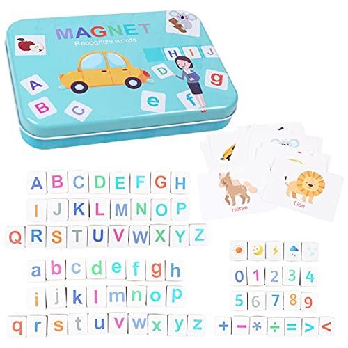 LYRONG - Juego de rompecabezas de ortografía con texto en inglés 'Early Education Memory Training - Juguete de aprendizaje para niños (color: multicolor)