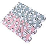 KESYOO 2 Pares de Calcetines a Media Pierna de Algodón Transpirable Calcetines de Tubo de Papel Higiénico Calcetines Divertidos Cosplay Medias de Vestir Accesorios para Fiestas