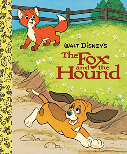 The Fox and the Hound Little Golden Board Book (Disney Classic) (Little...