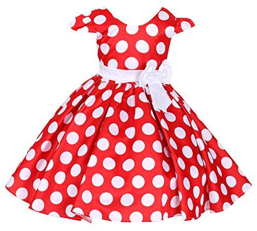 Happy Cherry Mädchen Partykleid Festliche Kleid Hochzeitkleid Prinzessin Dress Abendkleid Bankett...