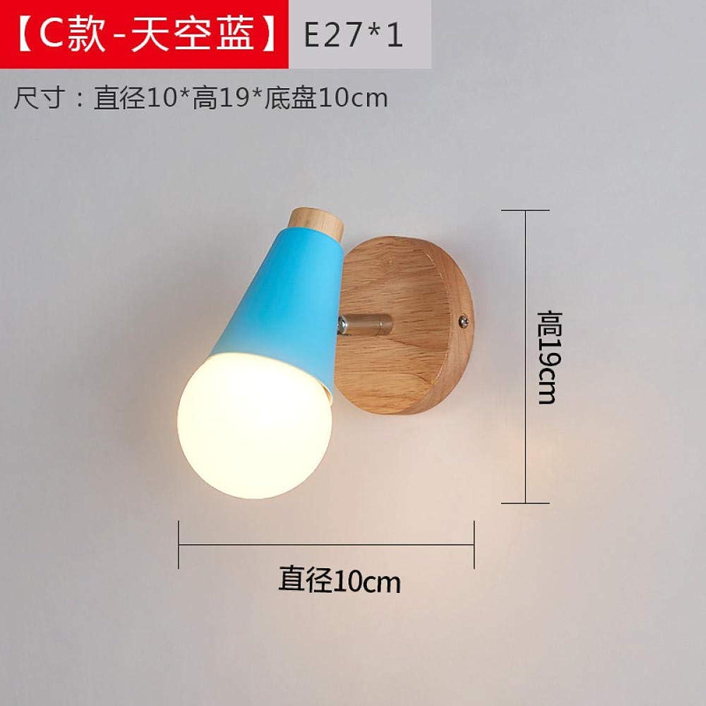 Web oficial Luz Nocturna 3D 3D 3D Lámpara De Parojo De Pasillo Del Dormitorio Junto A La Lámpara Lámpara Asta Creativa @ 19 azul_Warm Light  calidad fantástica