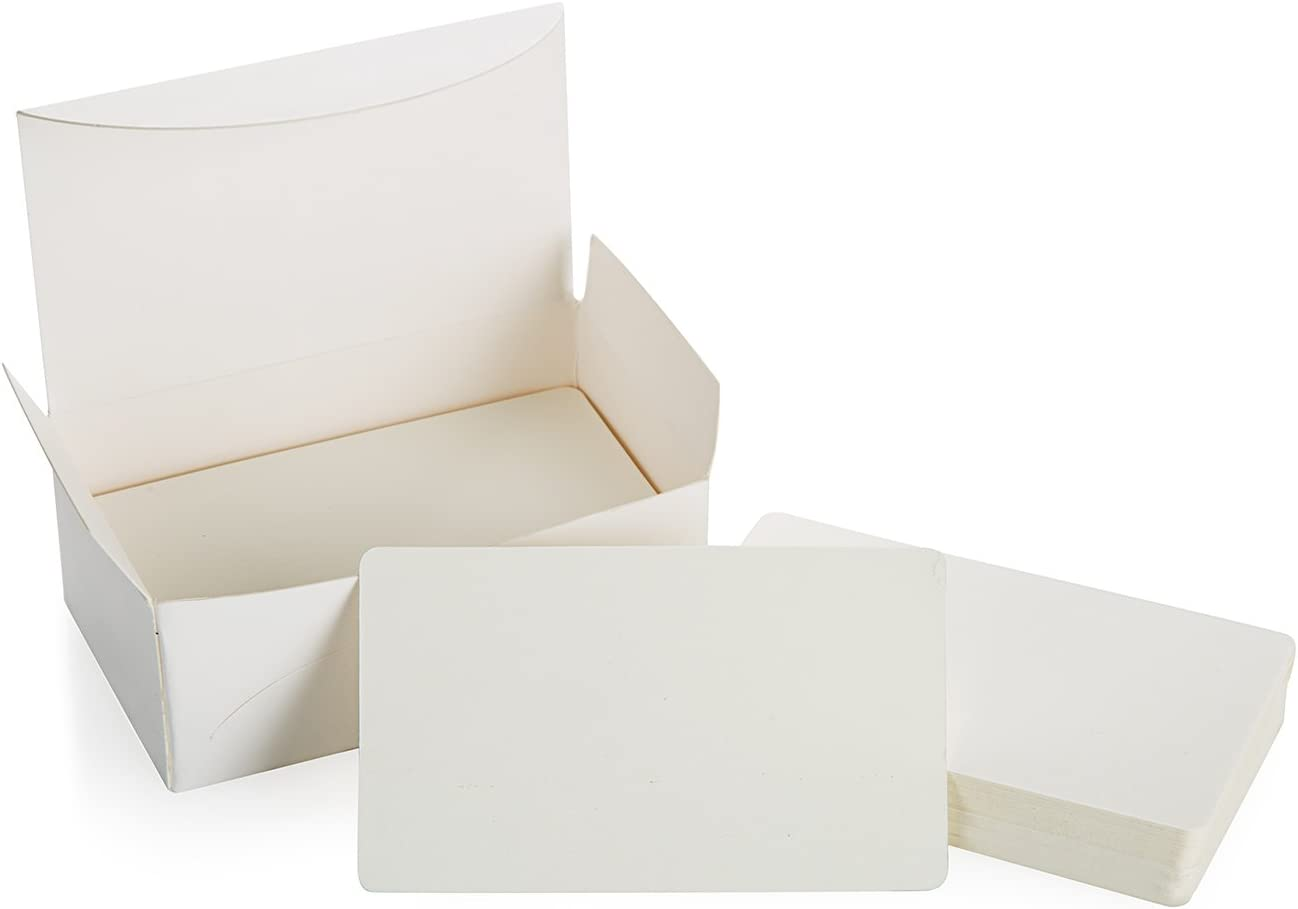 ZOOYOO Sales Blank White Cardboard paper W Card In a popularity Business Cards Message