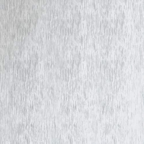 Klebefolie Metall Optik Alu Gebürstet mit Struktur, Dekofolie Möbelfolie Tapeten selbstklebende Folie, PVC, ohne Phthalate, silber, 67,5cm x 1,5m, 120µm (Stärke: 0,12 mm), Venilia 53136