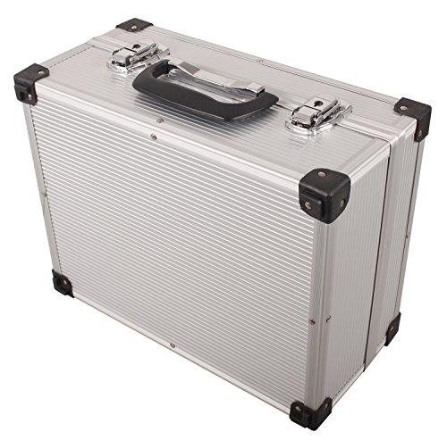 iWork L-80-003 Maleta de aluminio para herramientas, 34...