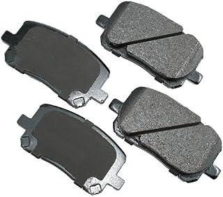 Akebono EUR710 EURO Ultra-Premium Ceramic Brake Pad Set