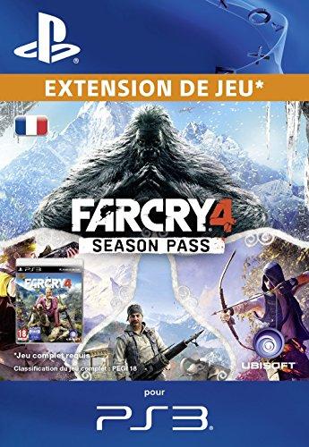Far Cry 4 Season Pass [Code Jeu PSN PS3 - Compte français]