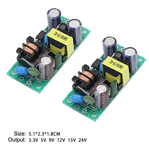 TECNOIOT 2pcs PAM8403 Audio Module Class-D Digital Amplifier Board 2.5 to 5V USB Power