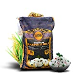 Premium Quality Crown White Basmati Rice – White 2 Years Aged Extra lengthy Basmati Rice – 100%...