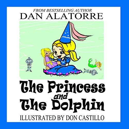 The Princess and the Dolphin audiobook cover art