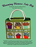 Blooming Flowers Tote Bag: Plastic Canvas Pattern (English Edition)
